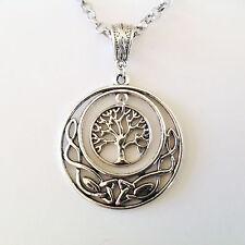 bijoux celtes pendentif entrelacs celtiques et arbre de vie irlandais