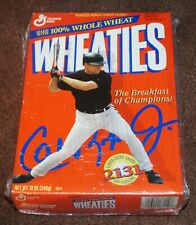 1995 BALTIMORE ORIOLES CAL RIPKEN JR 2131 WHEATIES BOX NO LOGO