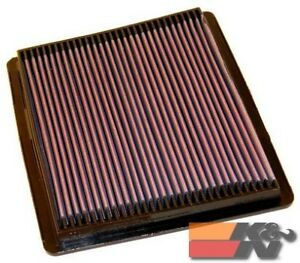 K&N Replacement Air Filter For FORD TAURUS SHO V6-3.0L F/I, 1989-1995 33-2040