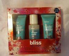 Bliss Berry Bright Snow Berry 3 Pc Gift Set - Hand Cream,Body Butter,Wash - NIB