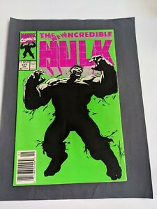 The Incredible Hulk 377 and 393 newsstand version