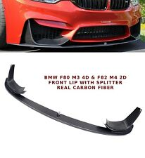BMW F80 F82 F83 M3 M4 CARBON FIBRE FRONT SPLITTER LIP SPOILER PERFORMANCE STYLE