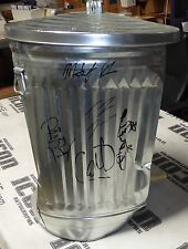 Terry Funk Matt Hardy Tommy Dreamer + Signed HOH Ring Used Trash Can PSA/DNA WWE