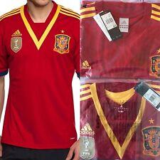 2x Original  adidas  Spanien Trikot JSY 2010-2014 WM  Rot Nagelneu