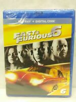 Fast & Furious 6 Blu-ray, New Sealed, Paul Walker, Dwayne Johnson