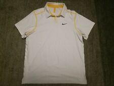 Nike polo RF tennis polo shirt size L Roger Federer 2011 Australian Open