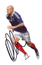 Alan Hutton, Scotland, Rangers, Tottenham, Aston Villa, signed 6x4 photo. COA.