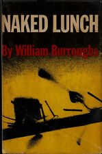 NAKED LUNCH-WILLIAM BURROUGHS-1959-1ST ED-W/$6.00 DJ-A RARE COLLECTIBLE BOOK!
