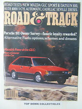 Road and Track Magazine   December  1980    Porche 911  Owner Survey