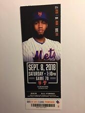 NEW YORK METS VS PHILADELPHIA PHILLIES SEPTEMBER 8, 2018 TICKET STUB