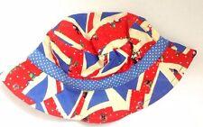 Next Baby Girl`s Sun Hats Floppy Hat Union Jack Print Size 3-6mths,6-9,1-2yrs