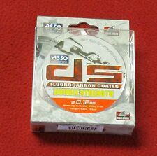 asso double strength fluorocarbone 0.12mm-100m-2.5 kgs made in japan