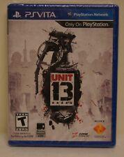 New! Unit 13 (Sony PlayStation Vita, 2012) - U.S. Retail Version