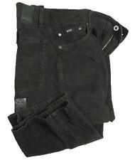 Boss Black jeans-velluto ARKANSAS IN W34/L34 (regolare dritto) marrone scuro