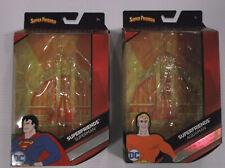 Mattel DC Multiverse Super Friends Lot of 2 Superman Aquaman Empty Packages Only