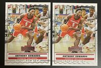 ANTHONY EDWARDS Contenders Front Row Seat ROOKIE Card RC Lot (x2) PSA 9/10?