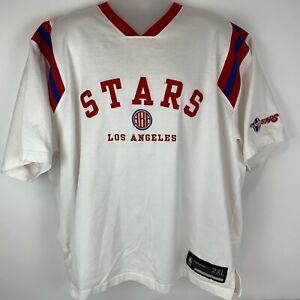 Los Angeles Stars ABA 2XL Jersey T Shirt NBA Basketball Hardwood Classics Tee
