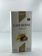 10 Cafe Royal Kapseln Nespresso Flavoured Edition Vanilla 16 Sorten 6,38€/100gr