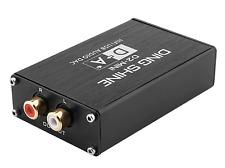 Audio Decoder DAC HIFI USB Sound Card 32Bit 384kHz RCA Phono output  - UK Seller