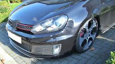 For Volkswagen VW Carbon Fiber Front Bumper Lip Fit For Golf6 GTI MK6 2010-2013