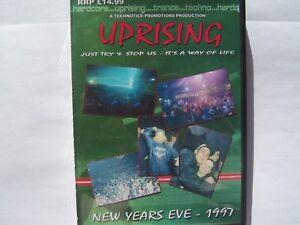 UPRISING - NEW YEARS EVE - 1997 - 4 PACK CDs FREEPOST