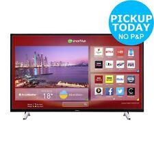 Hitachi 50 Inch Full HD 1080p Freeview Play Smart Wi-Fi LED TV - Black