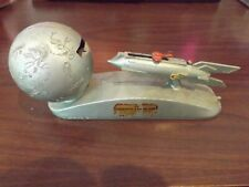 1960's Great Condition STRATO Duro 100 XU-232 Rocket Moon MECHANICAL BANK