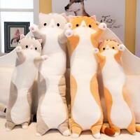 Cute Plush Cat Doll Soft Stuffed Kitten Pillow Doll Toy Gift for Women Girl Kids