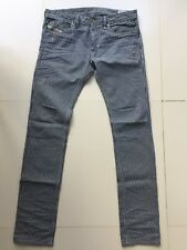 f3fc6e4ea60c DIESEL Herren Jeans THANAZ W32 L34 WASH 0888I Slim-Skinny gestreift