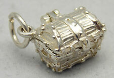 Apertura argento Sterling Charm Treasure Chest