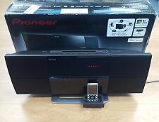 Pioneer X-SMC1-K Slim Micro Sistema De Cd/Dvd Home Hecho Para Ipod/Iphone ex demo #565