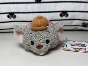 "Disney Tsum Tsum Japan Bernard Rescuers 3.5"" Mini Plush Mouse"
