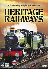 HERITAGE RAILWAYS VOLUMES 1 - 3 INSIGHT INTO BRITAIN'S TRAINS - 3 DVD BOX SET