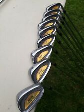SUPER KENO CUSTOM  MODEL GOLF CLUBS 3-9-P-S  WOODS 3-5 -PUTTER