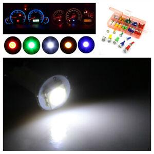 40PCS Mixed T10 T5 LED Dashboard Light 12V Fit For Car Instrument Panel Cluster