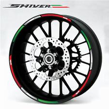 aprilia Shiver 750 900 wheel decals stickers rim stripes Factory Laminated