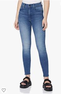 G-STAR RAW  Kafey Ultra High Skinny Jeans Size Waist 30