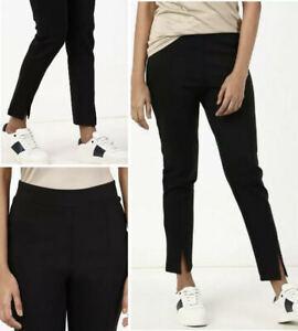 Women's Treggings Black Pull On NEW Ex M&S Sizes 8 - 20 rrp £25 Legging Trouser