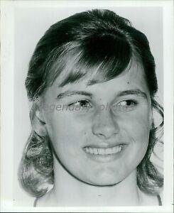 1972 Shane Gould Austrailian Gold Medal Olympic Swimmer Orig News Service Photo