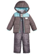 CARTER'S® Boys' 5 Gray Colorblock Animal Print 2-Pc. Jacket & Snowsuit Set NWT