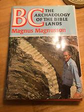 B C Archäologie der Bibel Lands von Magnus Magnusson Hardcover Book Free p&p