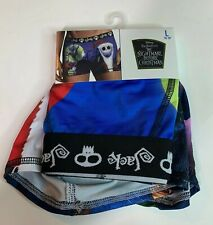 """Nightmare Before Christmas Large Lg L 36"""" - 38"""" Boxer Briefs Briefly Stated New"""