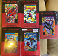 Marvel Premiere Classic SPIDER-MAN 4 70 83 97 105 HC variants OOP RARE SEALED!!!