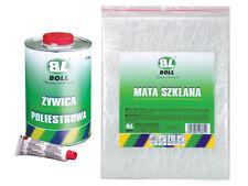 NEU BOLL REPARATUR SET GFK BOX Polyesterharz 1KG + GLASFASERMATTE + HÄRTER
