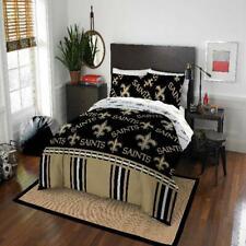 New Orleans Saints Nfl 5 Piece Comforter Bedding Team Logo Bed in Bag Set Full