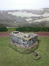 Painted scenery German bunker 20 mm WW2 Chain of Command Bolt Action FOW 1