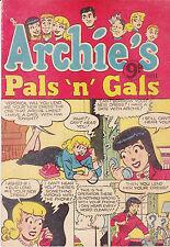 Archie's Pals 'n' Gals No11 (1953) Australian Comic