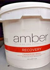 AMBER Spa Products RECOVERY Hand & Foot Moisturizer Lotion TANGERINE BASIL 64oz