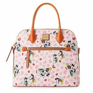 Dooney & Bourke Mickey and Minnie Mouse VALENTINES DAY Satchel NEW IN PLASTIC