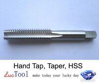 5/16-18 UNC Hand Tap Taper GH3 Limit 4 Flute HSS Taper Chamfer Bright Thread